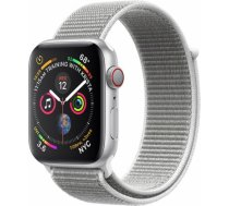 Apple Watch Series 4 40mm Silver Case / Seashell Loop viedā aproce MU652ZP/ A WATCH SERIES 4 40MM SILVER CASE / SEASHELL LOOP VIEDĀ APROCE MU6