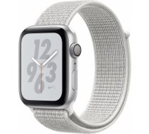 Apple Watch Series 4 Nike+ 44mm Silver Case / White Loop viedā aproce MU7H2 WATCH SERIES 4 NIKE+ 44MM SILVER CASE / WHITE LOOP VIEDĀ APROCE