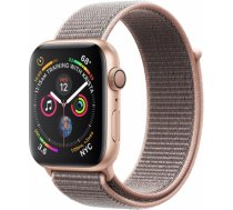 Apple Watch Series 4 40mm Gold Case / Pink Loop viedā aproce MU692ZP/ A WATCH SERIES 4 40MM GOLD CASE / PINK LOOP VIEDĀ APROCE MU692ZP/