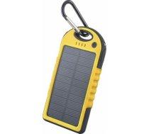Powerbank Forever Bateria uniwersalna zewnętrzna solarna Forever PB-016 5000 mAh żółta - GS GSM011226