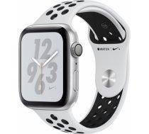 Apple Watch Series 4 Nike+ 40mm Silver Case / Black Nike Band viedā aproce MU6H2WB/ A WATCH SERIES 4 NIKE+ 40MM SILVER CASE / BLACK NIKE BAND VIEDĀ AP