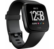 Fitbit Versa Black Aluminum viedā aproce FB505GMBK-EU VERSA BLACK ALUMINUM VIEDĀ APROCE FB505GMBK-EU