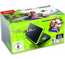 Nintendo New 2DS XL Black/ Lime Green incl. Mario Kart 7 spēļu konsole NEW 2DS XL BLACK/ LIME GREEN INCL. MARIO KART 7 SPĒĻU KONSOLE