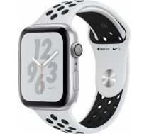 Apple Watch Series 4 Nike+ 44mm Silver Case / Black Nike Band viedā aproce MU6K2ZP/ A WATCH SERIES 4 NIKE+ 44MM SILVER CASE / BLACK NIKE BAND VIEDĀ AP