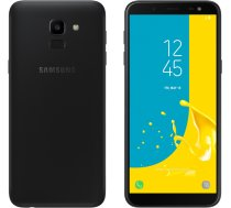 Smartfon Samsung Galaxy J6 32GB Dual SIM Czarny (SM-J600FZKUXEO)
