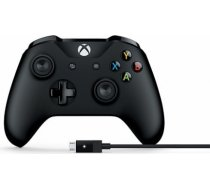 Microsoft Xbox One S Wireless Controller + Cable for Windows 4N6-00002 spēļu kontrolieris XBOX ONE S WIRELESS CONTROLLER + CABLE FOR WINDOWS 4N6-00002 SPĒ