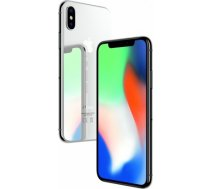 Apple iPhone X 64GB Silver DEMO Grade B (garantija 6 mēneši) mobilais telefons IPHONE X 64GB SILVER DEMO GRADE B (GARANTIJA 6 MĒNEŠI)