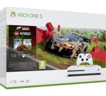 Microsoft Konsola Xbox One S 1TB z grą Forza Horizon 4 i dodatkiem Lego Speed Champions 234-01130