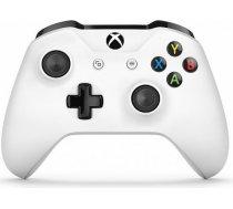 Microsoft Xbox One S Wireless Controller White spēļu kontrolieris XBOX ONE S WIRELESS CONTROLLER WHITE SPĒĻU KONTROLIERIS