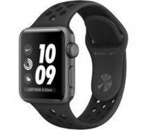 APPLE Watch Nike+ Series 3 GPS MTF12MP/A 38mm Space Grey Aluminium Case with Anthracite/Black Nike Sport Band | ATAPPZAW3AMTF12  | 190198806390