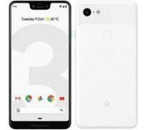 GOOGLE Pixel 3 XL 64GB/4GB White   T-MLX32639    6105042996503