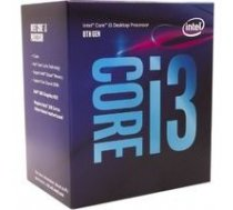 Intel Core i3-8100, 3.60GHz, 6MB, BOX (BX80684I38100) | BX80684I38100  | 675901491914
