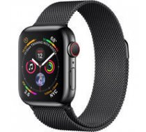 APPLE Watch Series 4 GPS Cell 40mm Black Steel Black Loop MTVM2FD/A | 0190198911599  | 0190198911599