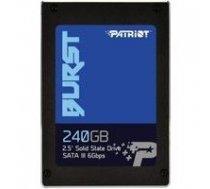 "PATRIOT Burst 240GB SATA III 2.5"" PBU240GS25SSDR   PBU240GS25SSDR    814914023938"