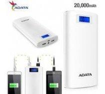 A-DATA ADATA P20000D Power Bank 20000mAh white   AP20000D-DGT-5V-CWHzzz    4713218461063