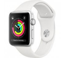 APPLE Apple Watch Series 3 GPS, 38mm Silver Aluminium Case with White Sport Band, Model A1858 |   | 190198805768