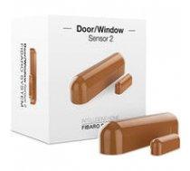 Fibaro  Door/Window Sensor 2 Z-Wave, Brown   FGDW-002-5 ZW5    5902701700386
