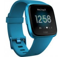 Fitbit  Versa Lite Fitness Tracker FB415BUBU OLED, Marina Blue, Touchscreen, Bluetooth, Built-in pedometer, Heart rate monitor, Waterproof |   | 811138034160