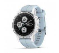 Garmin fenix 5S Plus,Glass,Wht w/Sea Foam Bnd,GPS Watch,EMEA   010-01987-23    753759207021