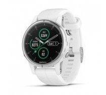Garmin fenix 5S Plus,Sapphire,White w/White Band,GPS Watch,EMEA   010-01987-01    753759197537