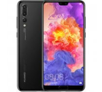 "Huawei  P20 Pro Black, 6.1 "", AMOLED, 1080 x 2240 pixels, HiSilicon Kirin, 970, Internal RAM 6 GB, 128 GB, Single SIM, Nano-SIM, 3G, 4G, Main camera Triple 40+20+8 MP, Secondary camera 24 MP, Android, 8.1, 4000 mAh | P20 Pro 128G Black-01  | 6901443214631"