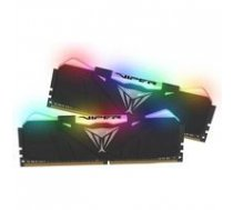 Patriot  Viper RGB DDR4 16GB DUAL KIT (2x8GB) 2666Mhz CL15, BLACK   PVR416G266C5K    814914024508