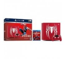 SONY PS 4 (PS4) 1TB Slim -Limited Edition Spiderman red |