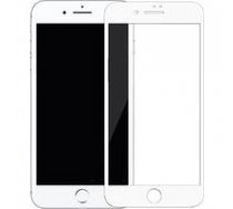 SWISSTEN Swissten Ultra Durable 3D Japanese Tempered Glass Premium 9H Aizsargstikls Apple iPhone XR Balts   SW-JAP-T-3D-IPHXR-WH    8595217458413