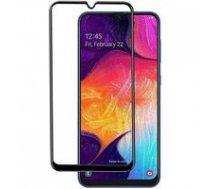 SWISSTEN Swissten Ultra Durable 3D Japanese Tempered Glass Premium 9H Aizsargstikls Samsung A505 Galaxy A50 Melns | SW-JAP-T-3D-A505-BK  | 8595217464568