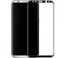 SWISSTEN Swissten Ultra Durable 3D Japanese Tempered Glass Premium 9H Aizsargstikls Samsung G955 Galaxy S8 Plus Melns | SW-JAP-T-3D-SA-G955-BK  | 8595217456044