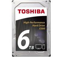 TOSHIBA X300 - HighPerform 6TB Retail | HDWE160EZSTA  | 4051528202724