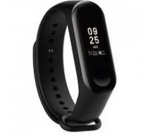 Xiaomi  Smart Fitness Tracker with HR function MiBand 3, OLED, 17 g, Touchscreen, Bluetooth, Built-in pedometer, Heart rate monitor, Black, Waterproof up to 50 m   Xiaomi Mi Band 3    6934177705489