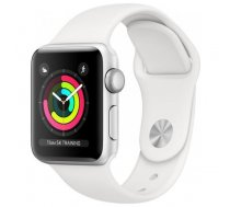 Apple Apple  Watch Series 3 38mm Silver Aluminum White Sport Band (GPS) MTEY2EL/A Silver White