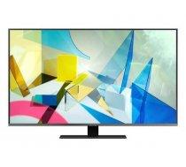 "SAMSUNG TV Set|SAMSUNG|4K/Smart|85""|QLED|3840x2160|Wireless LAN|Bluetooth|Tizen|Colour Black / Silver|QE85Q80TATXXH"