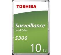 "Cietais disks HDD|TOSHIBA|S300|10TB|SATA 3.0|256 MB|7200 rpm|3,5""|HDWT31AUZSVA"