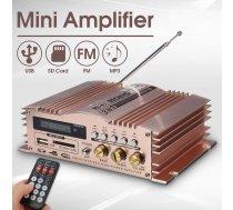 Audio pastiprinātājs 600W, 12v5A, FM Radio MP3 USB SD