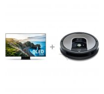 "Samsung QE75Q90TAT 75 ""4K Ultra HD LED TV + iRobot Roomba 975"