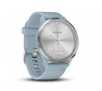 Garmin vivomove HR Sport silver/bluegreen (010-01850-08)