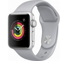 Apple Watch Series 3 GPS 38mm Silver Alu White Sport Band (MTEY2ZD/A)