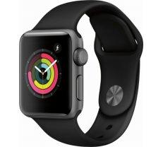 Apple Watch Series 3 GPS 38mm Grey Alu Black Sport Band (MTF02ZD/A)