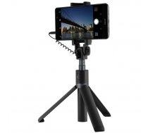 Huawei Honor AF14 Saliekams Selfiju Kāts Nūja + Tripods, Melns | Selfie Stick + Tripod Aluminium (65425)