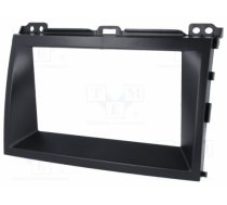 4CARMEDIA - 4CARMEDIA , Radio mounting frame; 2 DIN; Toyota; black - RAM-40.218.2