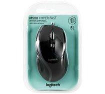 Logitech M500 Corded Mouse Black