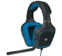 Logitech G430 Surround Gaming austiņas spēlēm