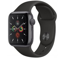 Apple Watch 5 GPS 40mm Sport Band, astropelēks/melns | MWV82EL/A  | 190199311213