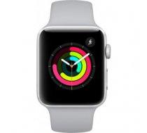 Apple Watch Series 3 Sport 38mm Aluminium Plastic Sport Band Fog Silver