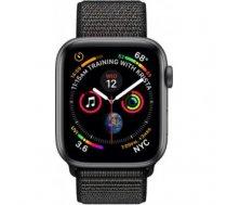 Apple Watch Series 4 Sport 44mm (GPS only) Aluminium Grey Sport Loop Band Black