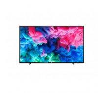 "TV Set | PHILIPS | 4K / Smart | 65"" | 3840x2160 | Wireless LAN | Tizen | Colour Black | 65PUS6503 / 12"
