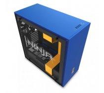 Case | NZXT | H700i Ninja | MidiTower | Not included | ATX | EATX | MicroATX | MiniITX | Colour Blue / Gold | CA-H700W-NJ