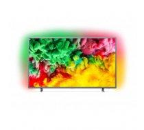 "TV Set | PHILIPS | 4K / Smart | 55"" | 3840x2160 | Wireless LAN | Linux | Colour Dark Silver | 55PUS6703 / 12"